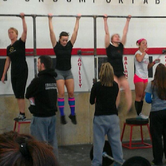 Fran @ PA's fittest comp
