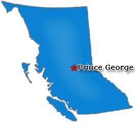 Map Prince George Bc Canada 404   File or directory not found. | Prince george, Prince george