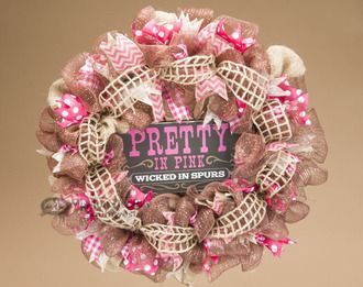 Western wreaths add a rustic charm to any southwestern, lodge or western style home decor.
