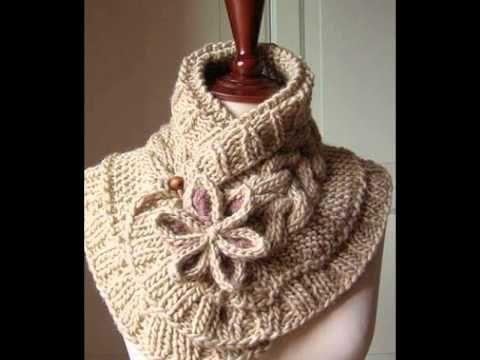 Modelos Capucha - Un patrón de crochet - YouTube | BUFANDAS ...