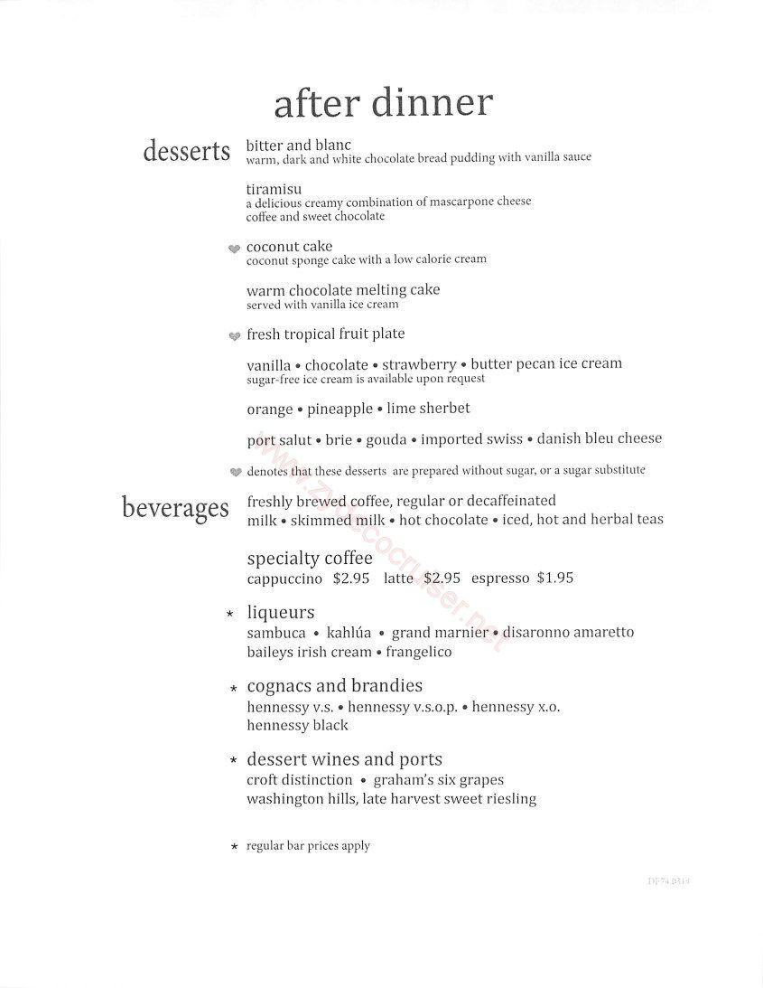 Carnival Cruise 7 Day Mdr Dinner Menus Food Pictures  Carnival New Carnival Cruise Dining Room Menu Design Decoration