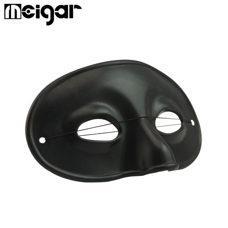 Plastic Halloween Party Mask Masquerade Ball Cosplay Costume Dress - halloween party decorations adults
