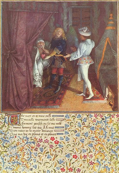 File Franzosischer Meister Um 1500 001 Jpg Wikimedia Commons Art Medieval Enluminure Coeur Amour