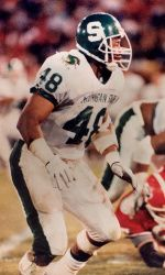 2013 College Football Hall Of Fame Ballot Features Three Spartans Former Coach Michigan State University Athletics Michigan State Football Michigan State Msu Spartans Football
