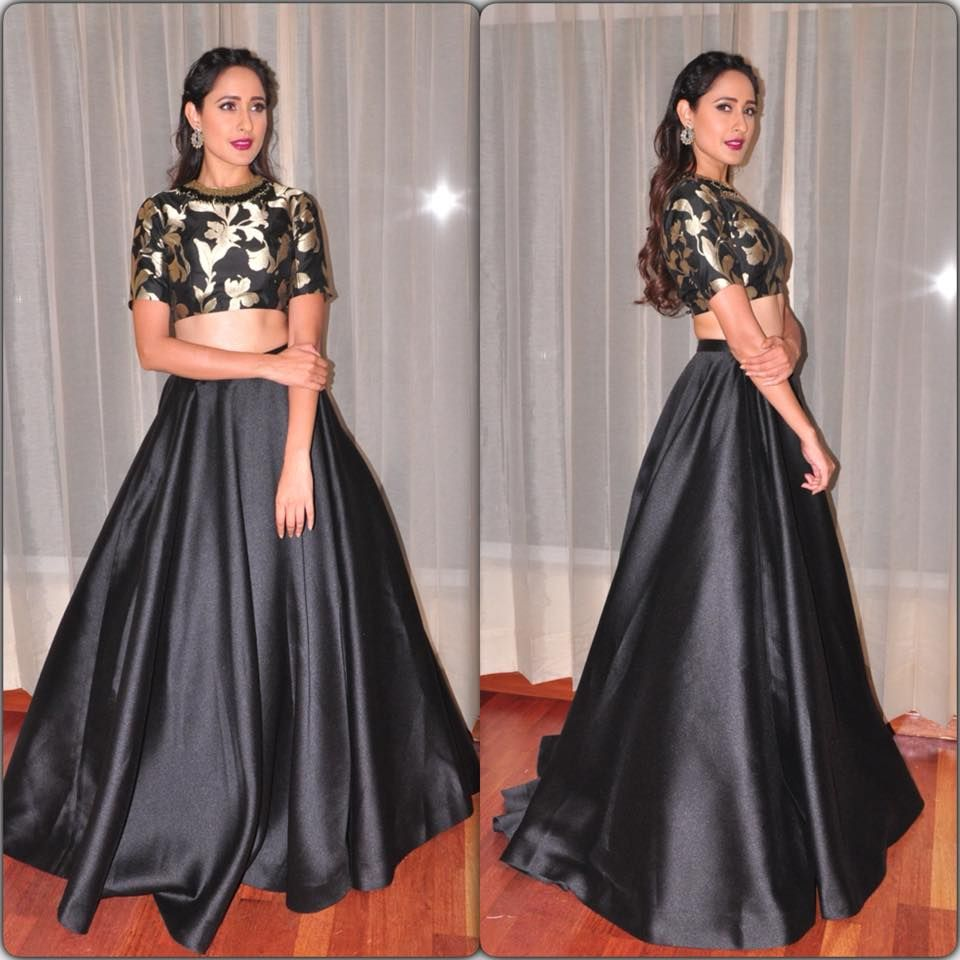 Pragya Jaiswal for the  TSRTV9Awards in Vizag!