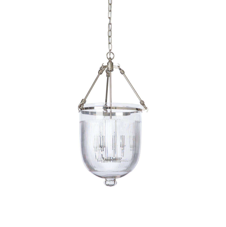 bell jar pendant light nickel kitchen pinterest lighting