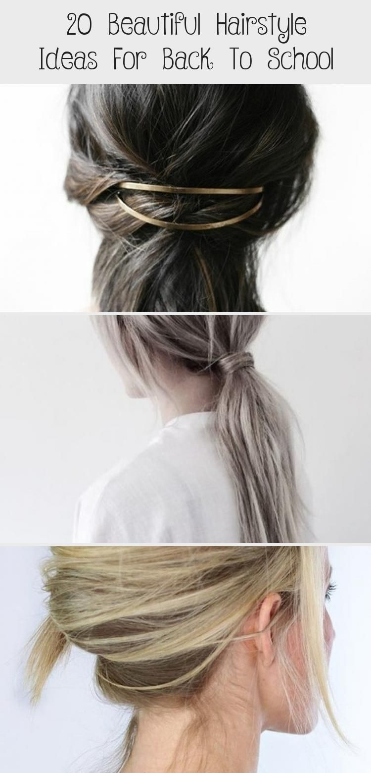 20 Beautiful Hairstyle Ideas For Back To School Beautiful Hairstyle Ideas School Hairtutorialpasoapa In 2020 Hair Styles Back To School Hairstyles Beautiful Hair