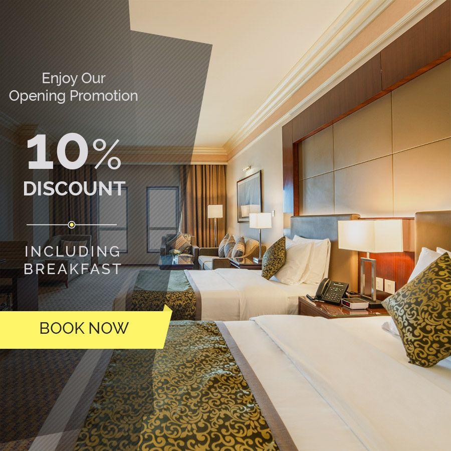 مناسبة الافتتاح استمتع بخصم 10 على الغرف مع الافطار مجانا وعش تجربة فريدة مع ويندام جاردن الدمام للحجز اتصل الآن على الرقم 01383 Hotel Dammam 4 Star Hotels
