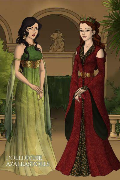 Arianne Martell Margaery Tyrell Doll Divine Dress Up Games