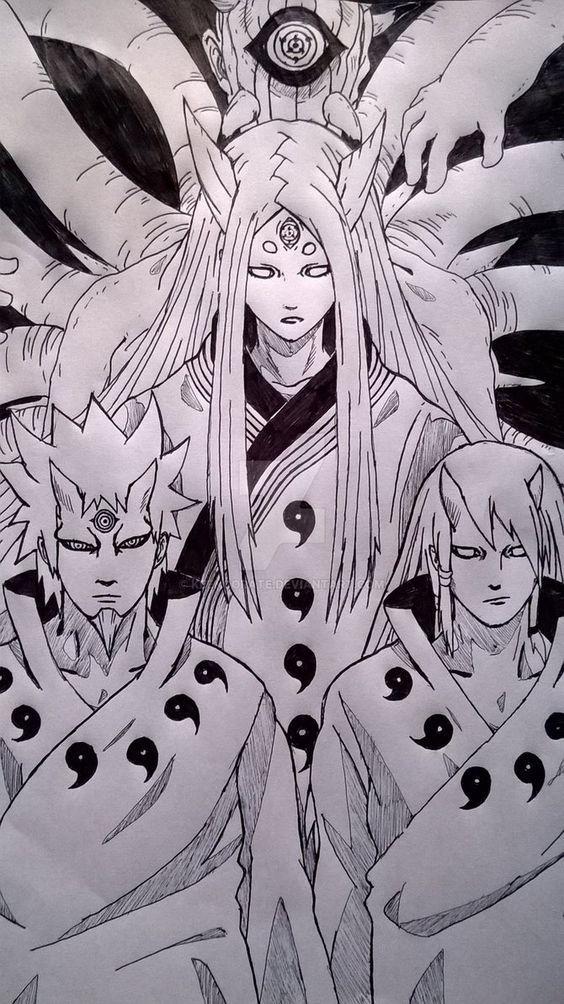 Mother And Sons By Keenoorate Arte Naruto Naruto Shippuden Sasuke Personagens De Anime