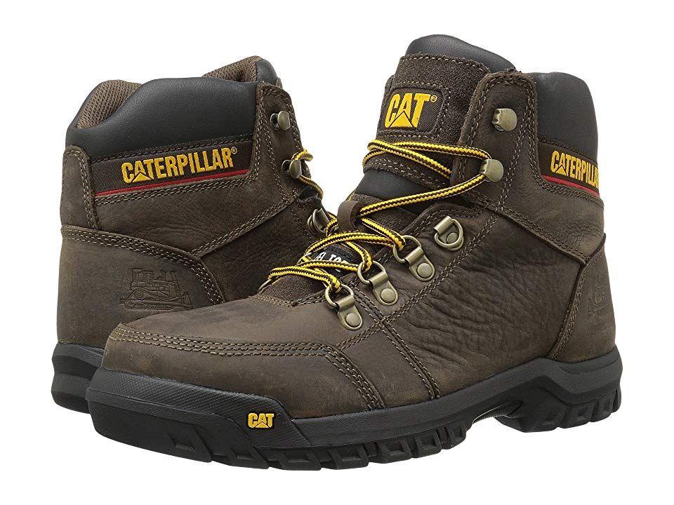 Caterpillar Mens Outline Work Boot