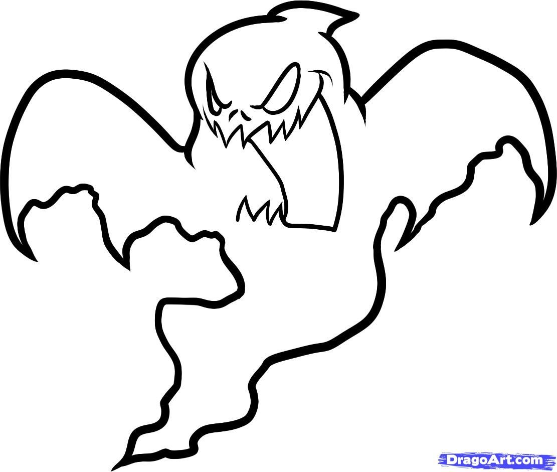 halloween ghost | how to draw a halloween ghost, halloween ghost ...