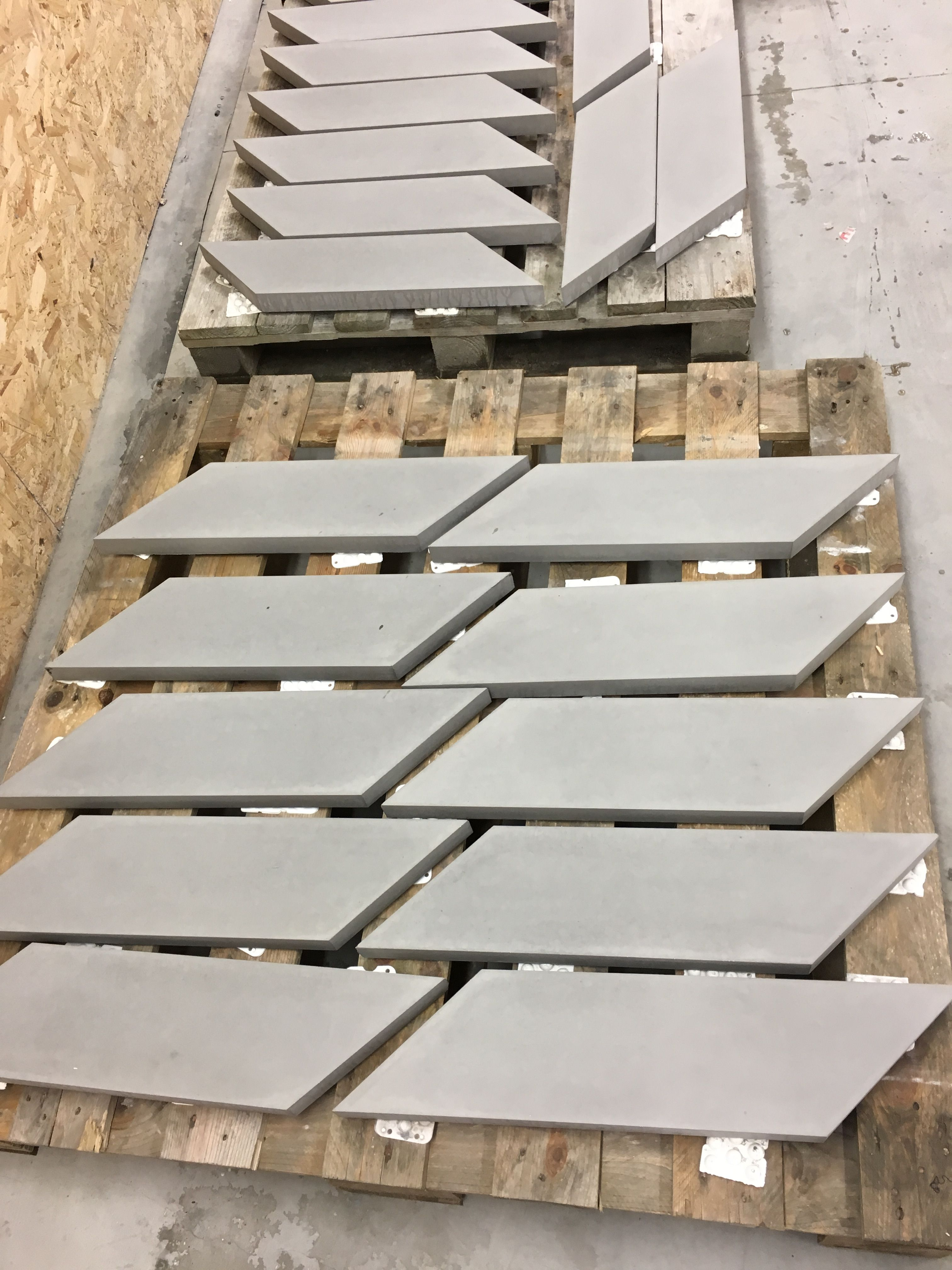 These Platinum Grey Tiles Are An Example Of A Smooth Face