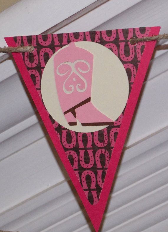 Western / Cowgirl Themed  Banner   READY TO by APaperPlayground, $22.50