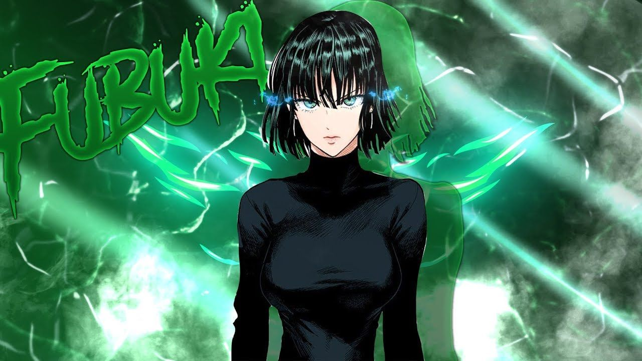 Wallpaper One Punch Man Fubuki