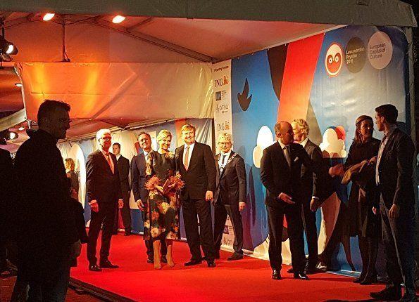 Koning Willem en Koningin Maxima wonen openingsevenementen van LF2018 bij
