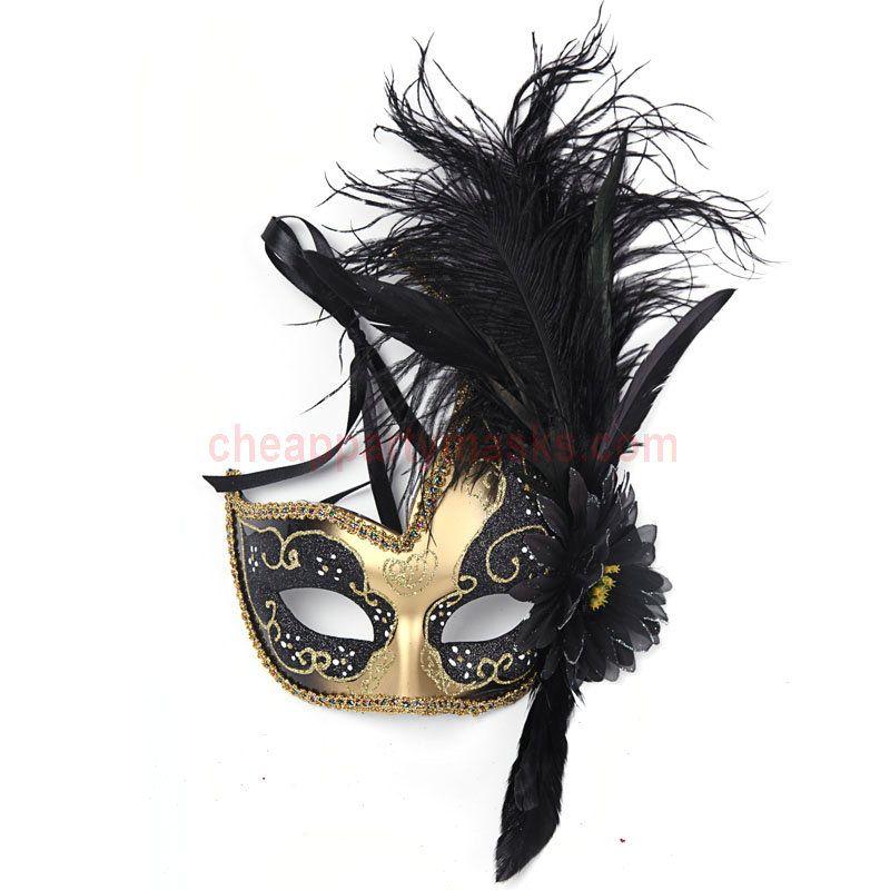 mask shop Halloween masquerade half masks Princess Feather