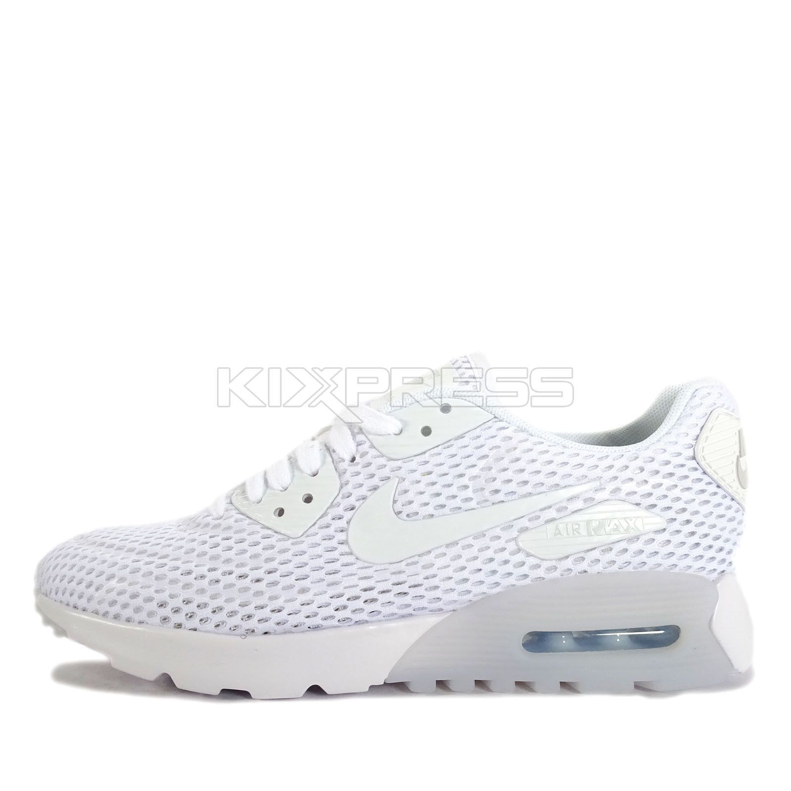premium selection 1863c f391e Nike Wmns Air Max 90 Ultra Br  725061-104  Nsw Running White Pure Platinum