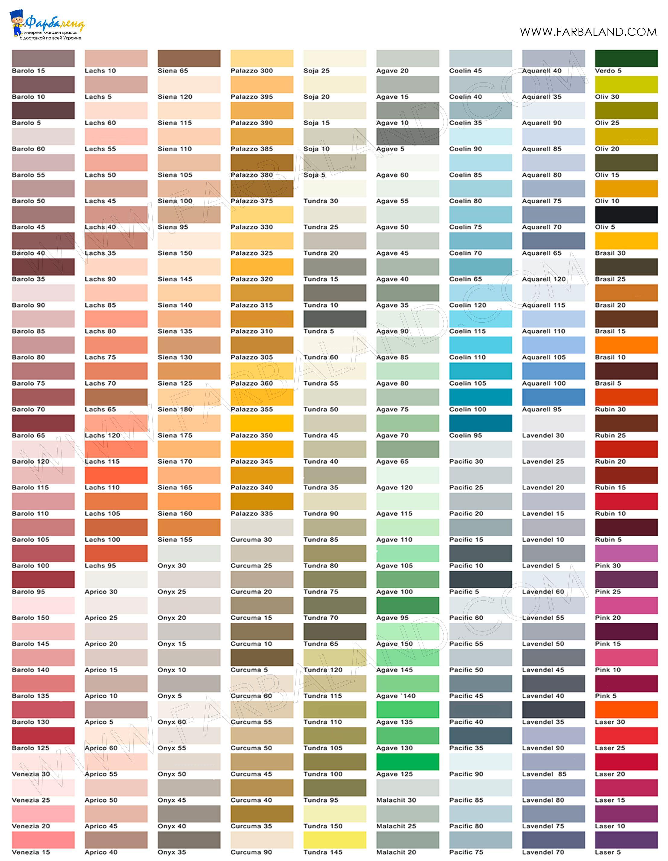24 Farbpalette Wandfarbe Grau