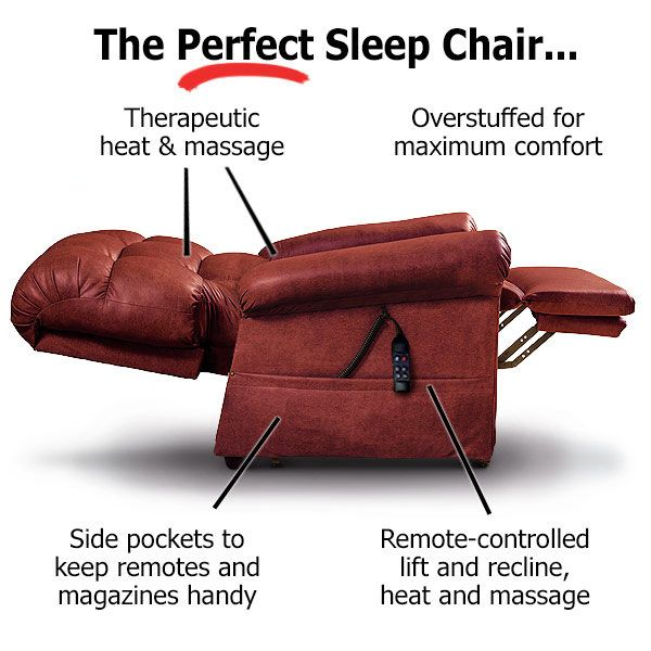 Superb The Perfect Sleep Chair Duralux Leather Lift Chair In Pdpeps Interior Chair Design Pdpepsorg