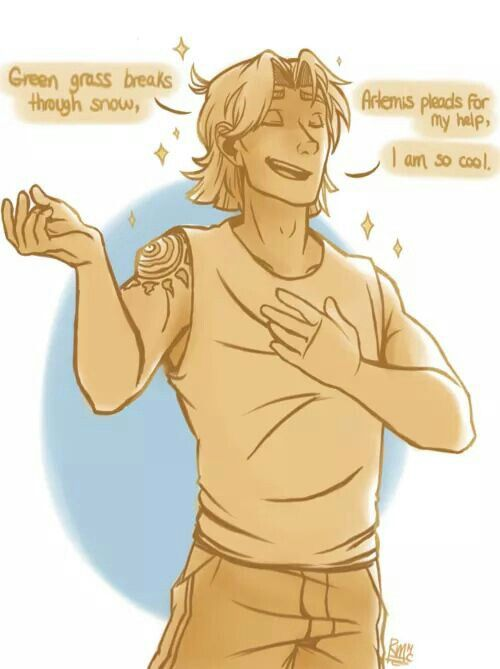 apollo and his haiku percy jackson and the olympians