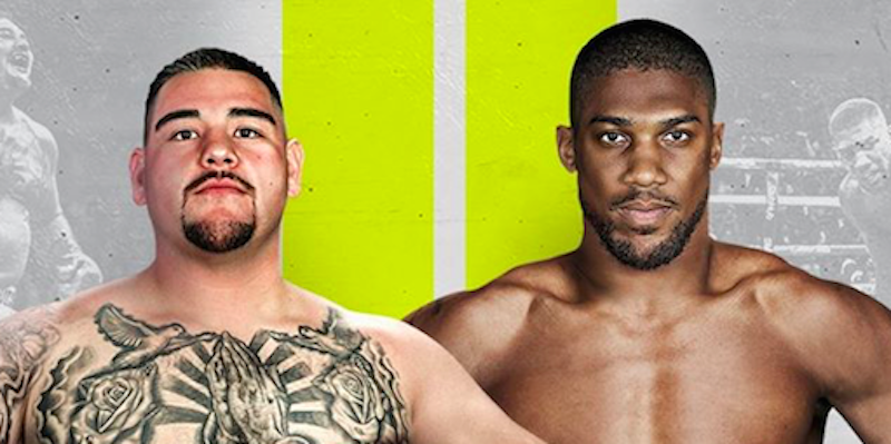 How To Stream Andy Ruiz Vs Anthony Joshua Fight Live Online On Roku Apple Tv Fire Tv Ios And Android Anthony Joshua Fight Joshua Fight Anthony Joshua