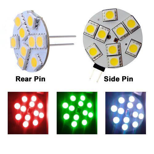 Rbg 12v Colour Change 9 Led Rear And Side Pin Product Description Led G4 Bulb Rgb Color Changing Version 9 Leds Smd505 Led Lights Color Change Lights