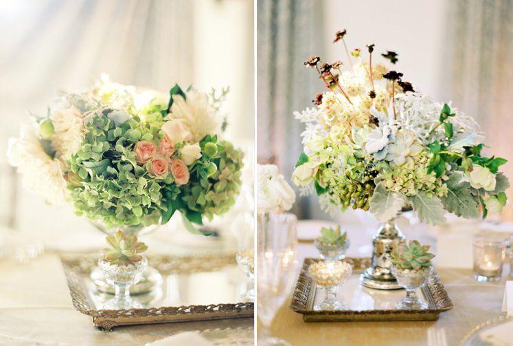 Classic romantic elegant candle wedding
