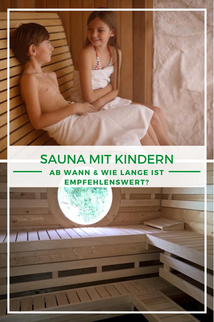 Sauna mit Kindern Ab wann & wie lange ist gut? Sauna
