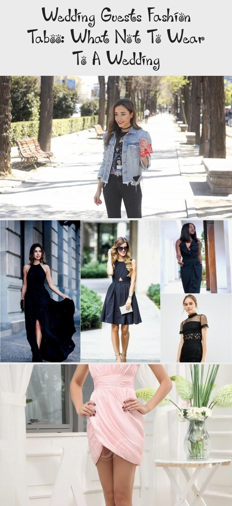 Wedding Guests Fashion Taboo What Not To Wear To A Wedding Pinokyo In 2020 Super Short Dress Wedding Guest Style Black Party Dresses