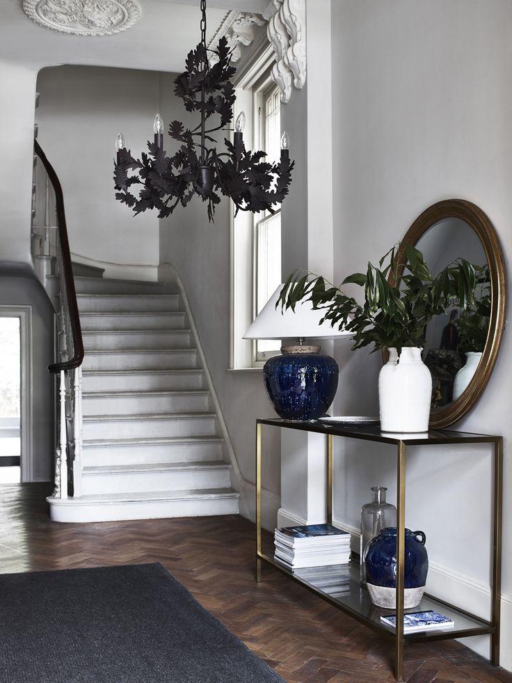 Dark And Dramatic Interior Design Inspiration Hallway Designs Interior Design Inspiration