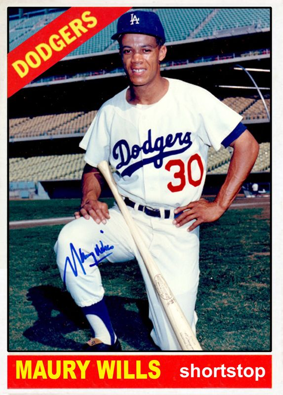 Baseball Cards Picturing All Qualifying Los Angeles Dodgers Rostered Players For 1966 Dodgers La Dodgers Baseball Los Angeles Dodgers