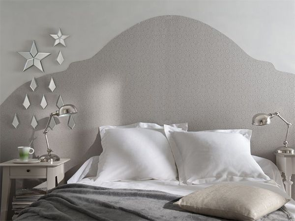 Papier Peint Expanse Sur Intisse Alhambra Taupe Tete De Lit Pas Cher Deco Chambre Et Tete De Lit Papier Peint