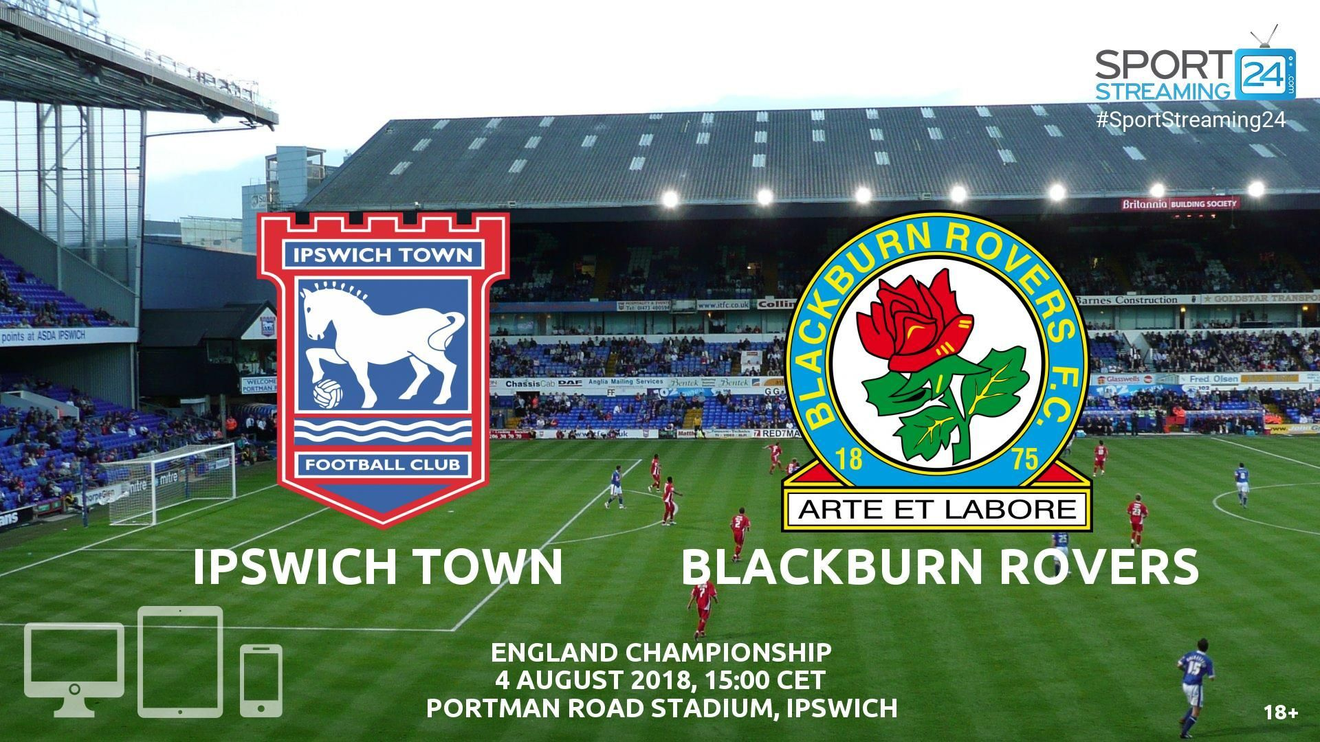 Streaming News And Match Previews Sportstreaming24 Streaming Ipswich Ipswich Town