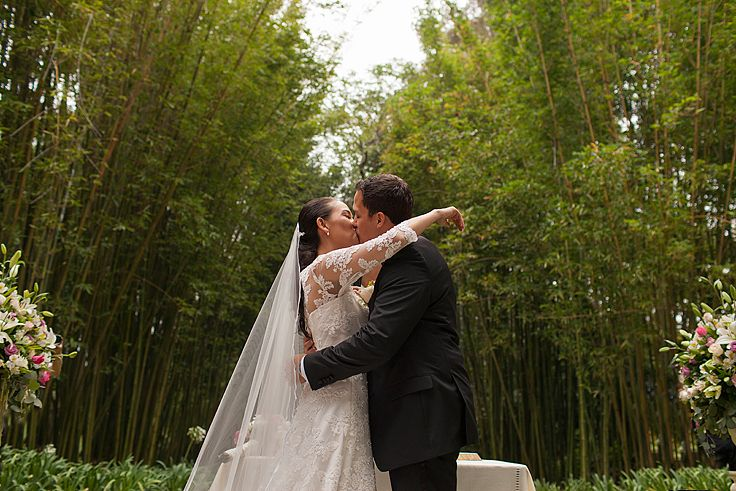 Wedding ceremony. #weddingceremony #firstkiss #outsideweddings #destinationweddings