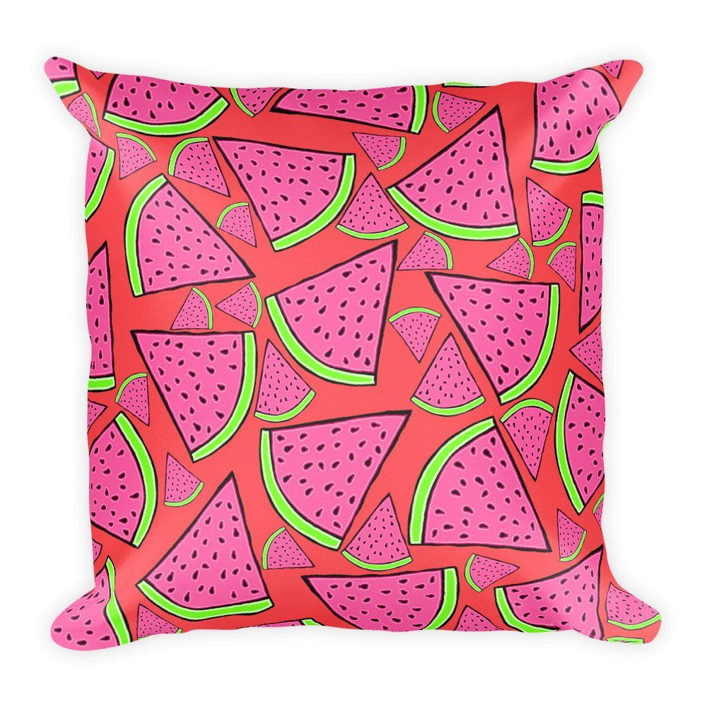 ONE IN A MELON Square Pillow