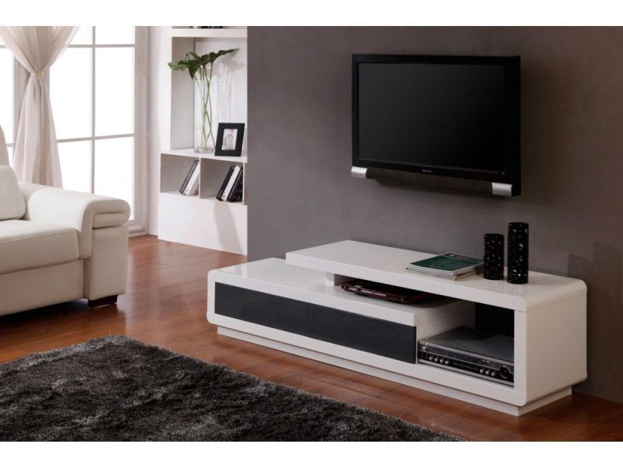 Mueble De Tv Moderno En Madera Lacada Ref Artaban - $ 499000 en