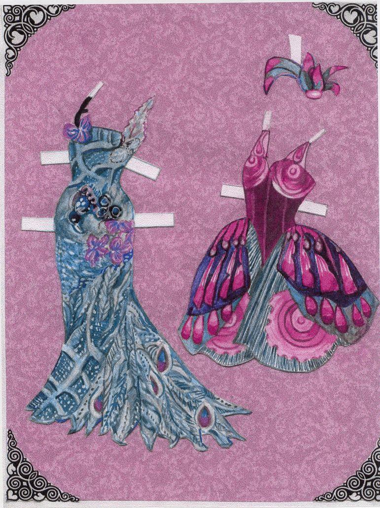2 dress for frog princess
