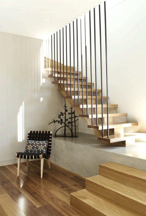 Farleigh House by Venn Architects stairs Pinterest Escalera - diseo de escaleras interiores