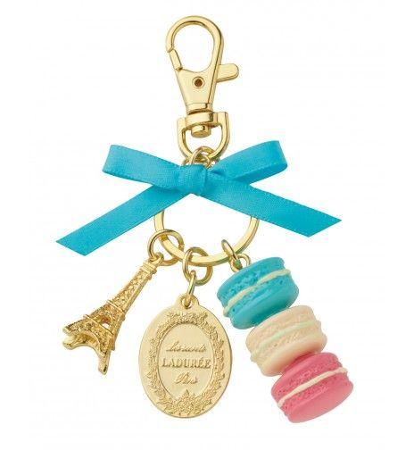 Porte clefs Ladurée - Bleu