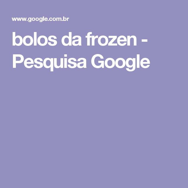 bolos da frozen - Pesquisa Google