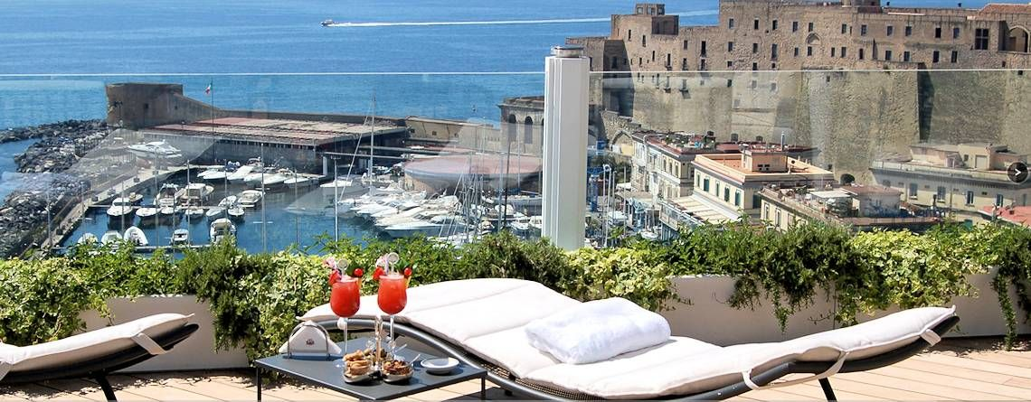Luxury Hotel In Naples Italy Hotel Excelsior Napoli