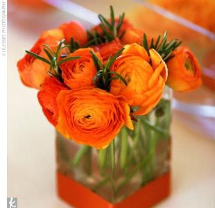 First Come Flowers Posts From October 2011 Flower Centerpieces Wedding Flower Centerpieces Orange Centerpieces