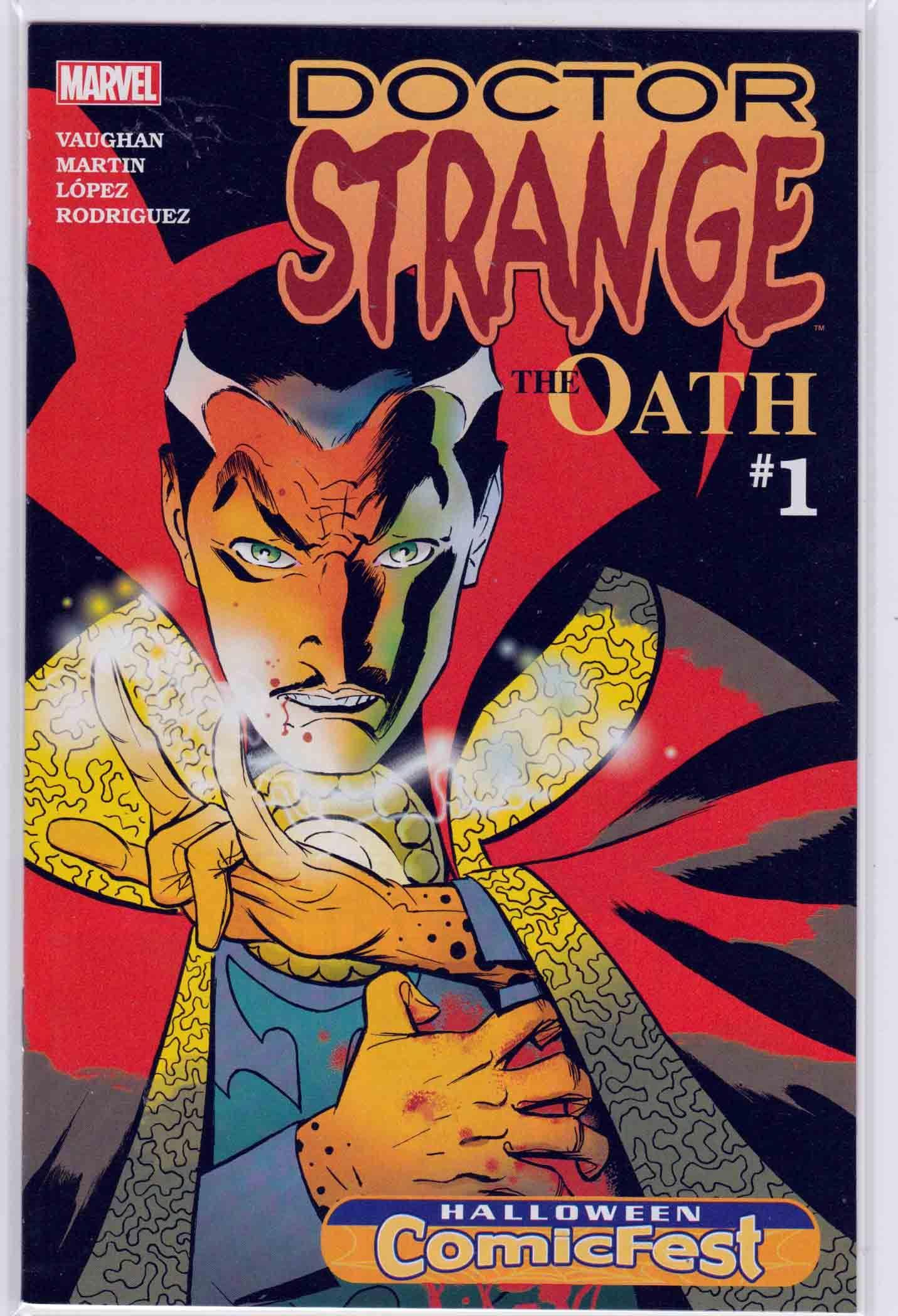 Doctor Strange The Oath (2016) Halloween ComicFest 2015 Marcos ...