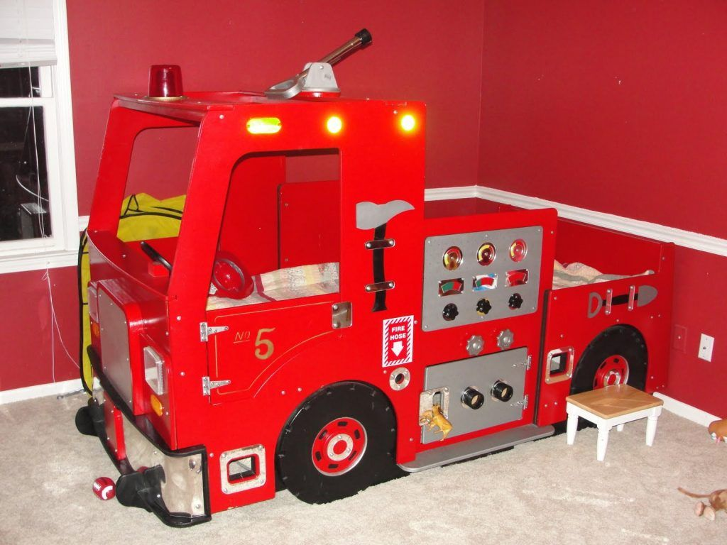 Die Besten Ideen Fire Truck Schlafzimmer Betten für