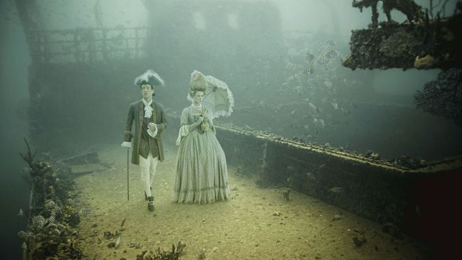 pics for gt the real titanic underwater inside