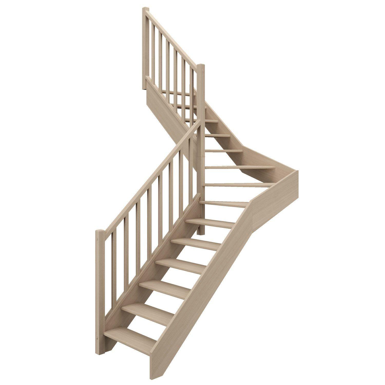 Escalier 1 4 T Milieu Gauche Bois Hetre Soft Classic Scm 14 Mar