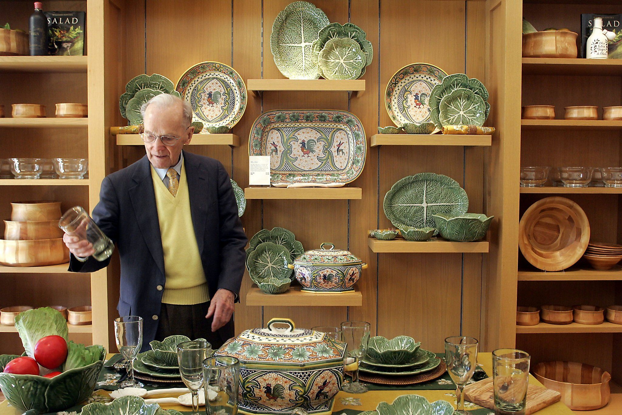 Chuck williams founder of williamssonoma dies at american