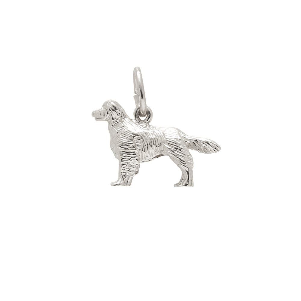 Rembrandt Charms Golden Retriever 925 Sterling Silver