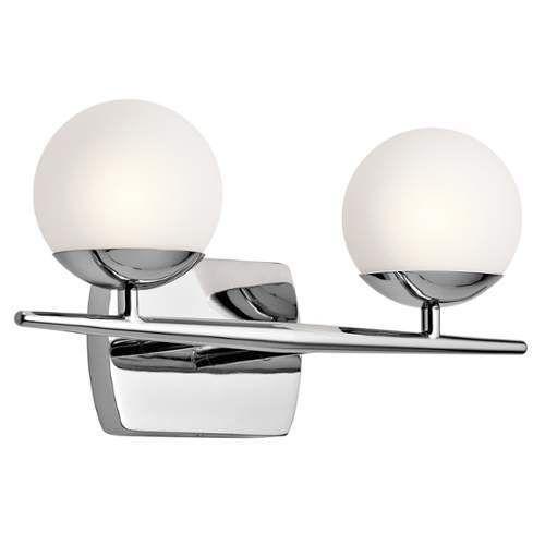 Kichler Jasper Light Bathroom Vanity Light Primary Image Home - 2 light bathroom vanity lights